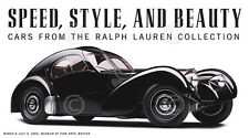 Speed, Style, and Beauty: Cars Ralph Lauren Michael Furman Print Poster 36x20