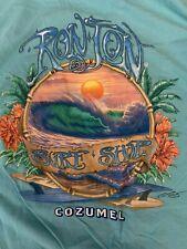 New listing Vintage Ron Jon Surf Shop Surf And Shop Cozumel T Shirt Sz Large A36