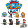 Paw Patrol - Schuh Pins Crocs Chase Zuma Marshall Skye Rubble Rocky jibbitz