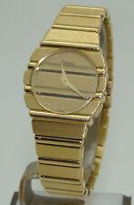 PIAGET POLO QUARTZ 18K YELLOW GOLD 23mm WOMEN's WATCH ON BRACELET 861C701