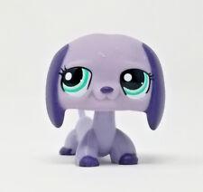 Littlest Pet Shop #1367 Dachshund Dog Puppy Green Eyes LPS