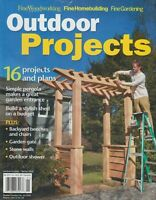 Fine Woodworking Outdoor Projects Spring 2019 Projects & Plans