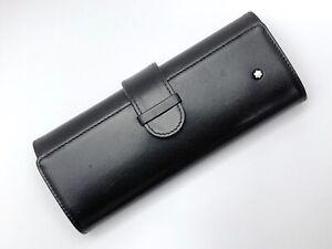 Montblanc Meisterstuck Traveller Leather Pen Pouch  (For Single Pen)