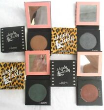 LOT of 4..THE BALM EYESHADOW..SHADY LADY..4 COLORS..MIRROR COMPACT..NEW