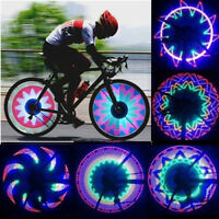 32 LED Light Lamp Colorful Bicycle Motorcycle Bike Cycling Tyre Tire Wheel Valve