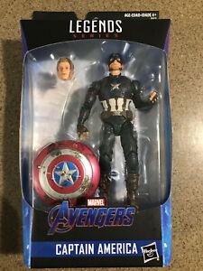 Marvel Legends Worthy Captain America MCU Endgame Exclusive NIB