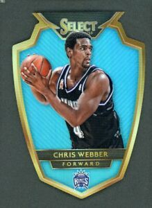 2014-15 Chris Webber 135/199 Panini Select Blue Die-Cut #162
