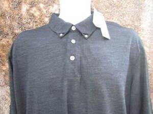Ashworth golf long sleeve polo shirt