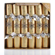 Dazzle Gold Snowflake Christmas Bon Bons