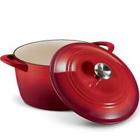 Tramontina Enameled Cast Iron Dutch Oven 7 qt Red   FAST FREE SHIPPING!!!!