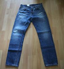 NEU Nudie Jeans Steady Eddie (Straight Fit) Organic SPARKLING NAVY 32/32