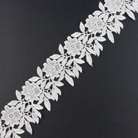 2 Yards Lace Trim For Wedding Bridal Dress Ribbon Belt DIY Sewing Decor Craft