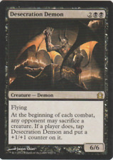 Desecration Demon rare Return to Ravnica MTG Magic the Gathering card
