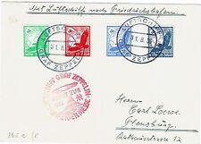 LUFTSCHIFF GRAF ZEPPELIN-FRANKFORT-FRIEDRICSHEFEN-ENTIER POSTAL-31/08/1936