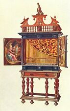 MUSICAL INSTRUMENTS. Positive Organ 1945 old vintage print picture