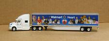 Trucks & Stuff WM4001 International Prostar SC w/53' Walmart Heart van