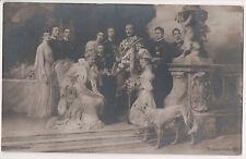 Vintage Postcard Kaiser Wilhelm II, Empress Augusta of Germany & Family
