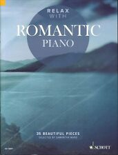 Relax with Romantic Piano Sheet Music 35 Beautiful Pieces Piano Book 049045139