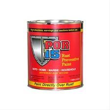 New POR-15 - Rust Preventive - Gloss Black - Quart