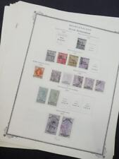 EDW1949SELL : BECHUANALAND & PROTECTORATE Choice quality VF MOG & Used Cat $1411