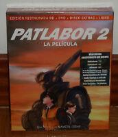 PATLABOR 2 LA PELICULA EDICION COLECCIONISTA RESTAURADA BLU-RAY+DVD+LIBRO NUEVO