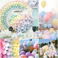 30pcs 5/10Inch Macaron Latex Balloons Baby Shower Birthday Wedding Party Decor