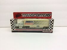Matchbox 109 Snickers Race Team Truck And Trailer