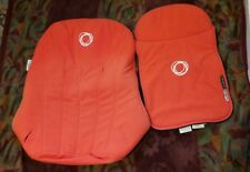 Bugaboo cameleon 1 and 2 orange Seat  Liner and apron  fleece Fabric.