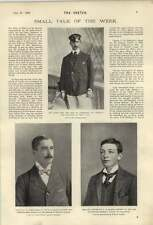 1900 Captain Ph Darbyshire Fh Raikes J Norwood H Paton Casualties