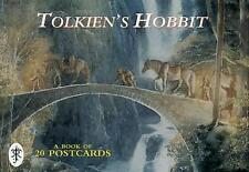 TOLKIEN's HOBBIT POSTCARD BOOK 20 Postcards SCARCE!