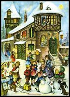 Charts Needlework Crafts DIY - Counted Cross Stitch Patterns - Fun in the Snow