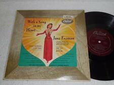 """SUSAN HAYWARD as Jane Froman With a Song In My Heart '52 CAPITOL 10"""" OST LP EX"""