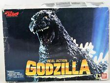 Rare Real Action Godzilla Bandai 1993