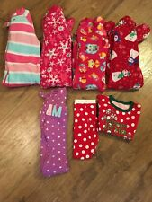 Girls size 24 Months Fall/Winter Pajamas Lot of 7~EC~The Children's Place & more