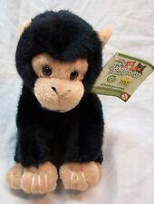 "Wild Republic Cuddlekins Nice Soft Chimpanzee 7"" Plush Stuffed Animal Toy New"