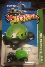2012 Hot Wheels Angry Birds Green Minion Pig ERROR No Eyes