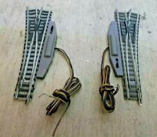 Fleischmann N 9170 9171 Weichenpaar rechts links elektromagnetisch Profi Gleis