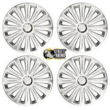 "VW Caddy 16"" Universal Trend RC Wheel Cover Hub Caps x4"