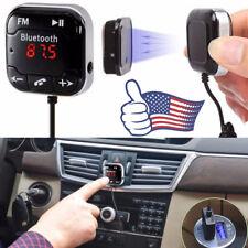 Bluetooth Wireless Car Kit FM Transmitter MP3 Player USB SD LCD Remote Handsfree