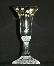 Rosenthal Group Germany Signed Classic Rose Pedestal Candlestick Holder w/ Gold