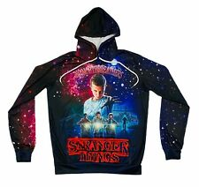 Stranger Things No Mouthbreathers Hoodie Sweatshirt  RARE Youth Lg