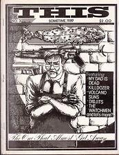 this fanzine #3 1989 my dad is dead killdozer volcano suns didjits the watchmen