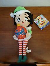 Sugar Loaf Betty Boop Christmas Noel Plush Stuffed Doll 16 inch free shipping
