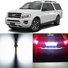 Alla Lighting License Plate Light 168 Super White LED Bulbs for Ford Expedition