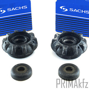 2x Sachs 802 442 Strut Bearing Front Smart Fortwo Cabrio Roadster