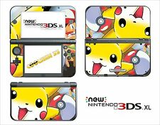 SKIN DECAL STICKER - NINTENDO NEW 3DS XL - REF 101 POKEMON