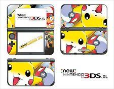HAUT STICKER AUFKLEBER - NINTENDO NEU 3DS XL - REF 101 POKEMON