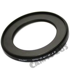 72-49mm Step-Down Metal Lens Adapter Filter Ring / 72mm Lens to 49mm Accessory