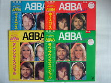 LOT OF 4 / PROMO LABEL / ABBA COLOR VINYLS / UNPLAYED