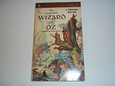 Vintage The Wonderful Wizard Of Oz - 1965 Paperback by Airmont Publishing